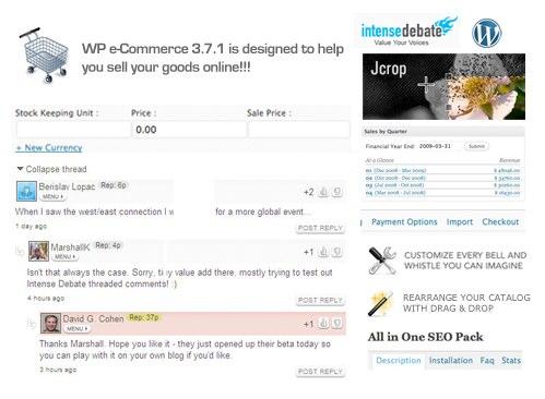 WP e-Commerce IntenseDebate